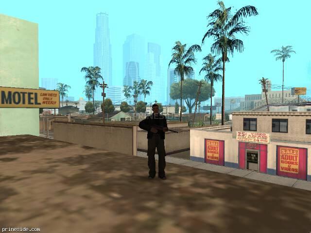 Просмотр погоды GTA San Andreas с ID 57 в 7 часов