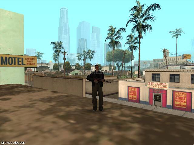 Просмотр погоды GTA San Andreas с ID 57 в 8 часов