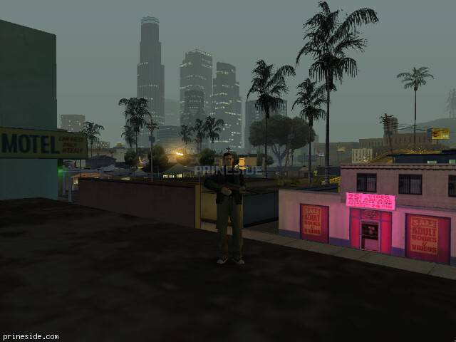 GTA San Andreas weather ID 58 at 0 hours