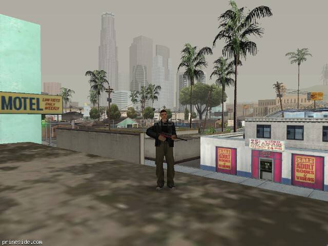 GTA San Andreas weather ID -198 at 10 hours