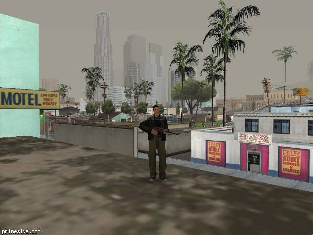 GTA San Andreas weather ID 58 at 11 hours