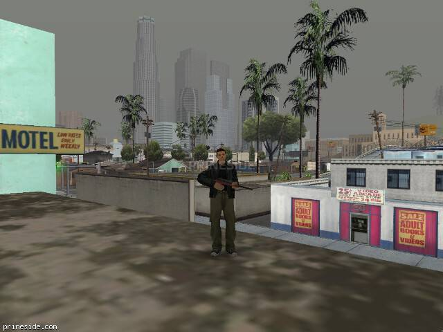 GTA San Andreas weather ID 58 at 13 hours