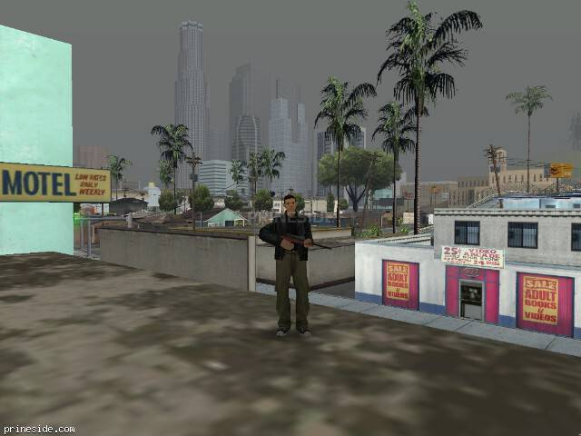 GTA San Andreas weather ID 58 at 14 hours