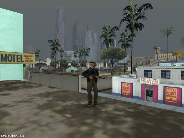 GTA San Andreas weather ID 58 at 15 hours
