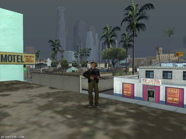 GTA San Andreas weather ID 58 at 16 hours