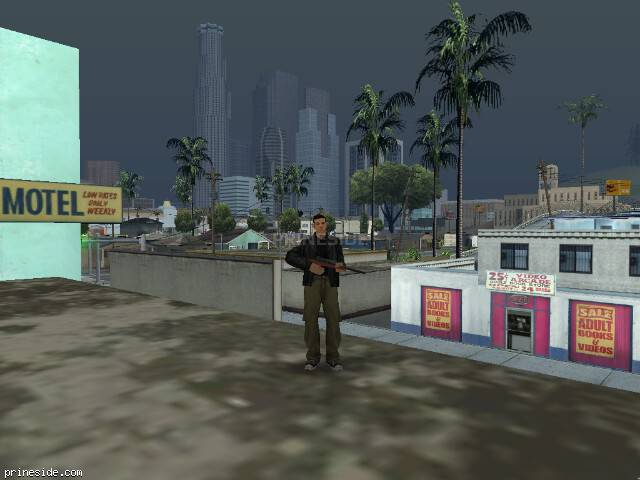 GTA San Andreas weather ID 58 at 17 hours