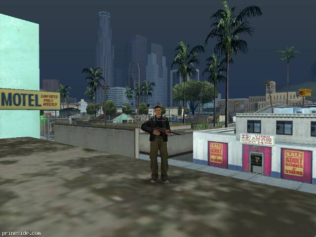 GTA San Andreas weather ID 58 at 18 hours