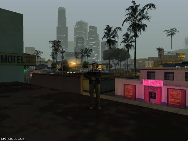 GTA San Andreas weather ID 58 at 1 hours