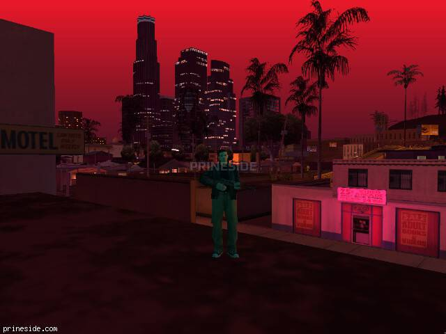 GTA San Andreas weather ID 58 at 21 hours