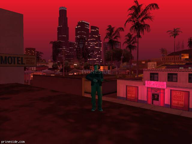 GTA San Andreas weather ID 58 at 22 hours