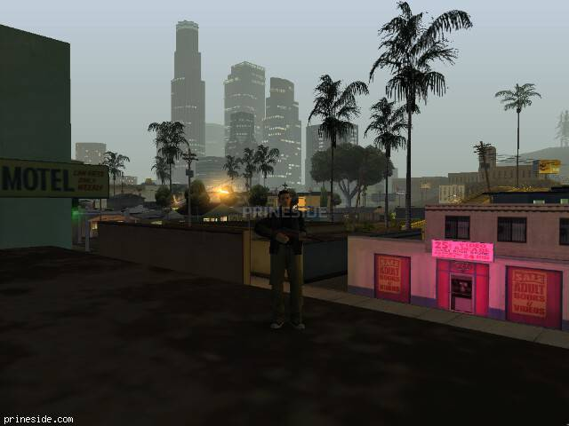 GTA San Andreas weather ID 58 at 2 hours