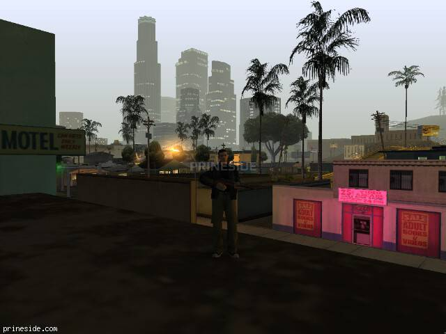 GTA San Andreas weather ID 58 at 3 hours