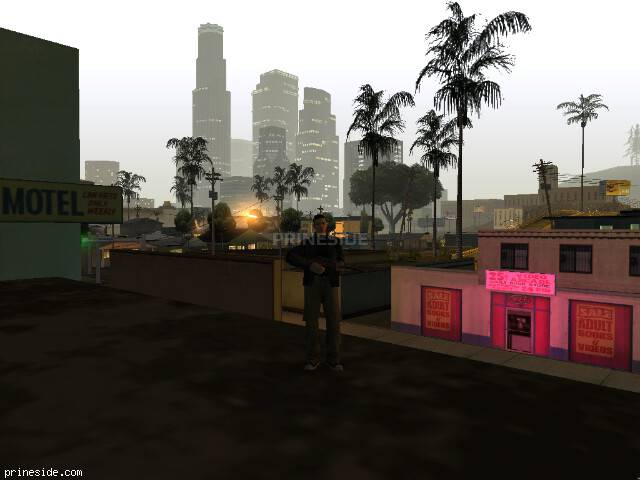 GTA San Andreas weather ID 58 at 4 hours