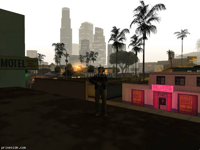GTA San Andreas weather ID 58 at 5 hours