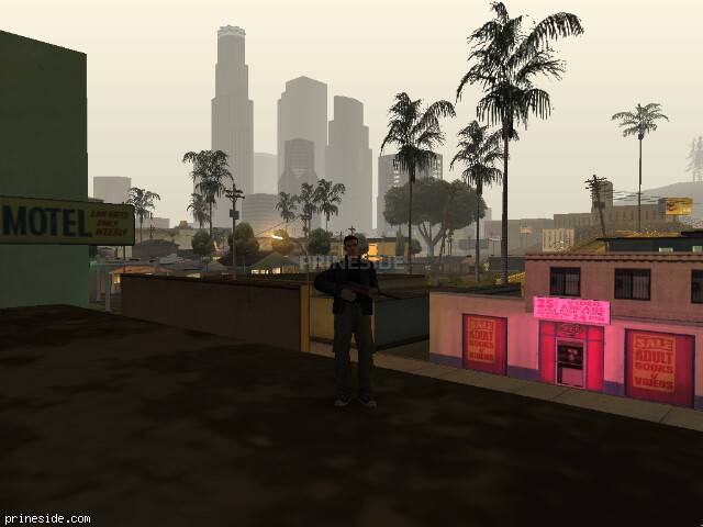 GTA San Andreas weather ID 58 at 6 hours