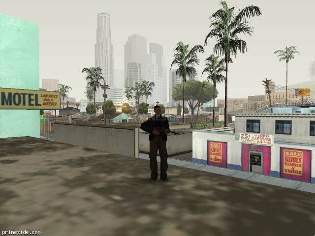 GTA San Andreas weather ID 58 at 7 hours