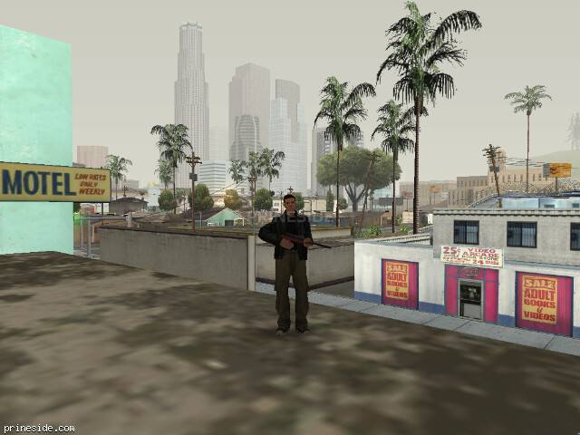 GTA San Andreas weather ID 58 at 8 hours