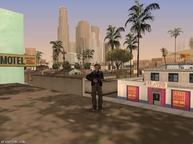 Просмотр погоды GTA San Andreas с ID 59 в 14 часов