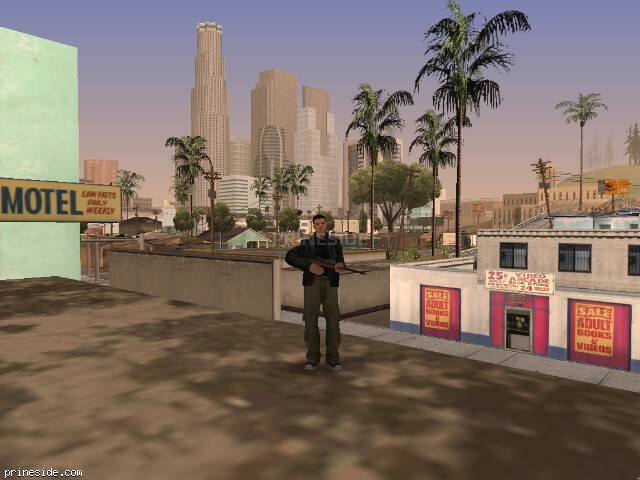 GTA San Andreas weather ID 827 at 15 hours
