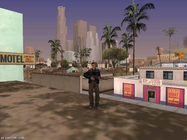 Просмотр погоды GTA San Andreas с ID 59 в 17 часов