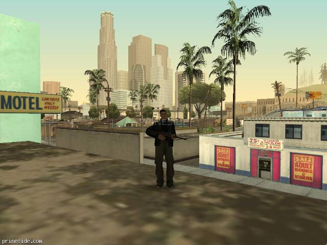 Просмотр погоды GTA San Andreas с ID 827 в 8 часов
