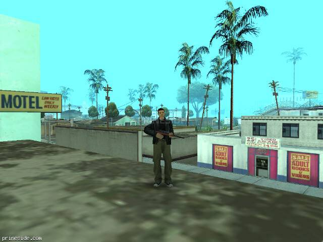 Просмотр погоды GTA San Andreas с ID 6 в 12 часов