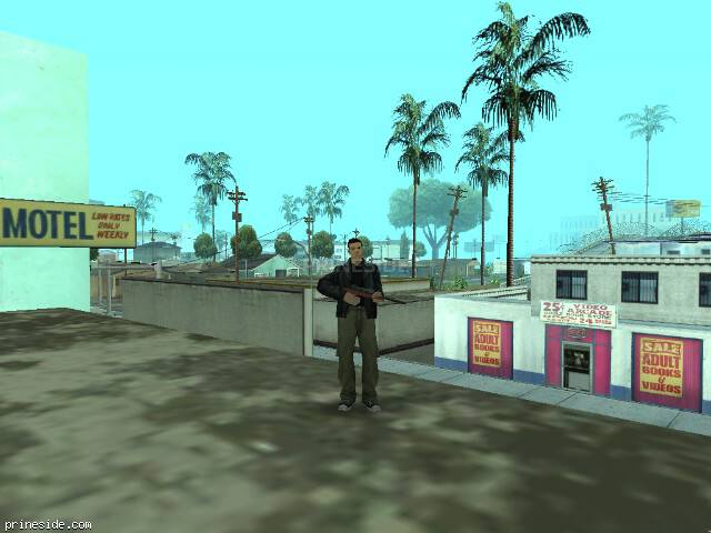 GTA San Andreas weather ID 6 at 16 hours