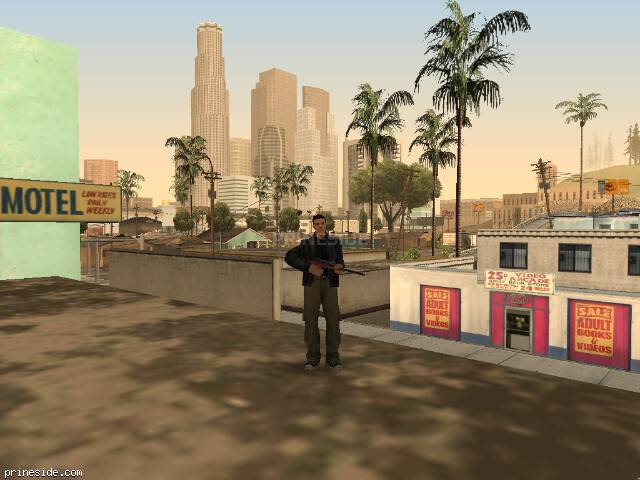 GTA San Andreas weather ID -196 at 11 hours