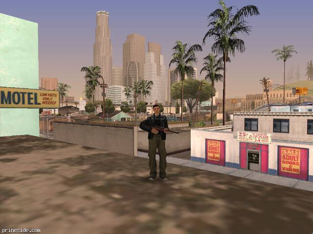 GTA San Andreas weather ID -452 at 15 hours
