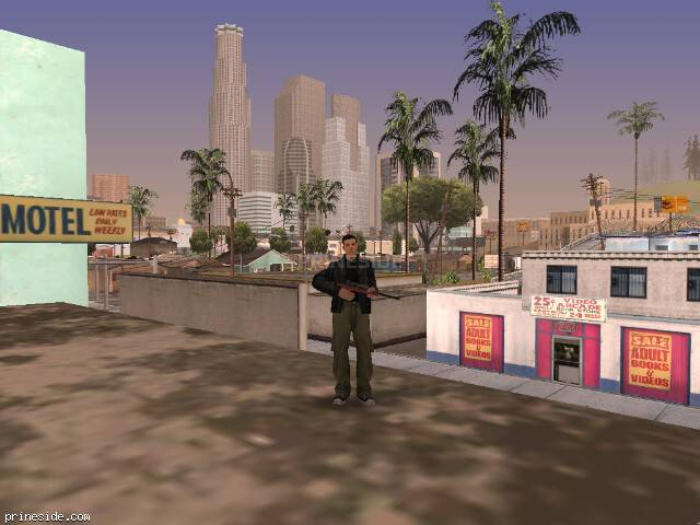 GTA San Andreas weather ID 1596 at 16 hours