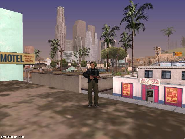 GTA San Andreas weather ID 60 at 17 hours