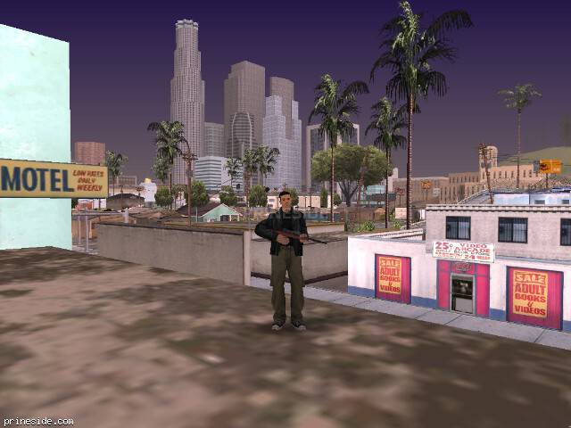 GTA San Andreas weather ID 1596 at 19 hours