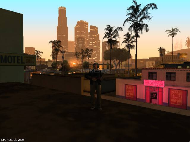 GTA San Andreas weather ID -1220 at 2 hours