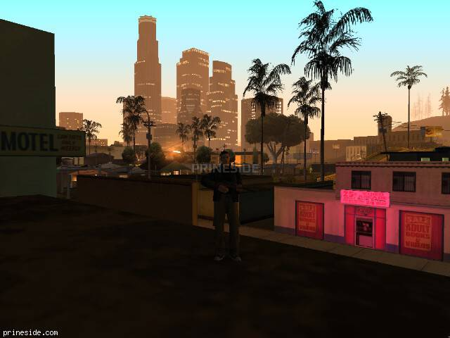 GTA San Andreas weather ID -196 at 3 hours