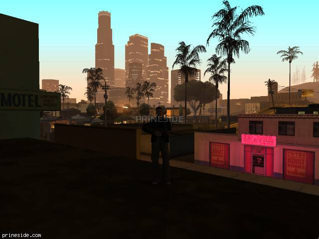 GTA San Andreas weather ID -708 at 5 hours