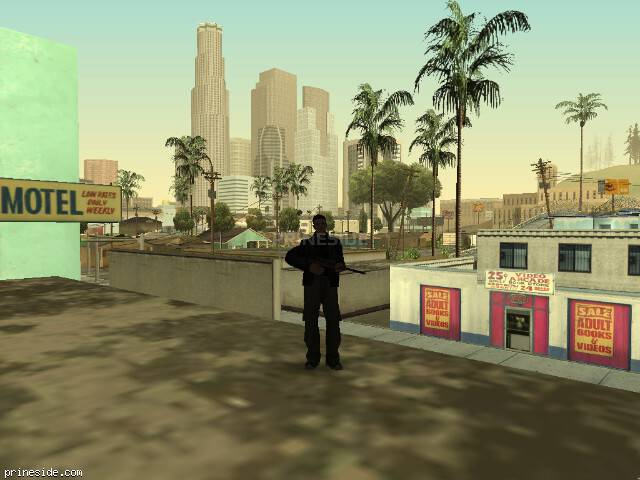 GTA San Andreas weather ID 828 at 7 hours