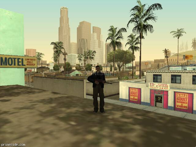 GTA San Andreas weather ID 828 at 8 hours