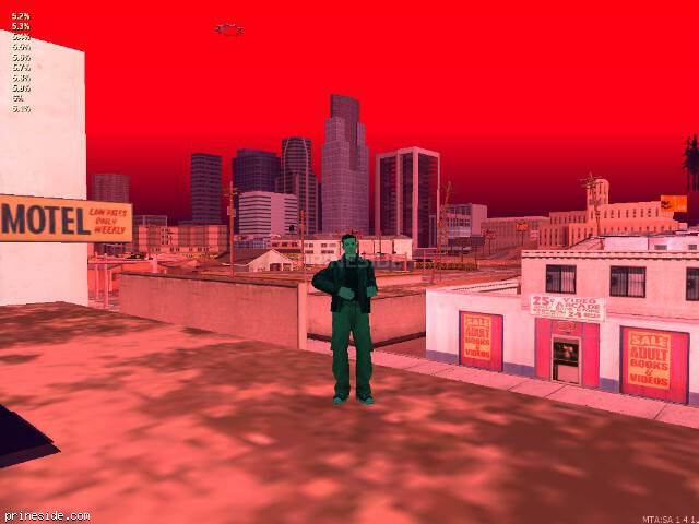 GTA San Andreas weather ID 61 at 20 hours