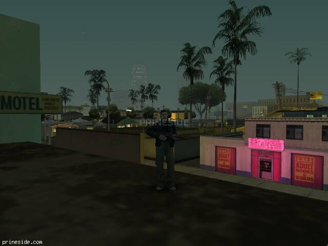 GTA San Andreas weather ID 62 at 0 hours