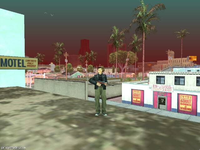 GTA San Andreas weather ID 62 at 11 hours