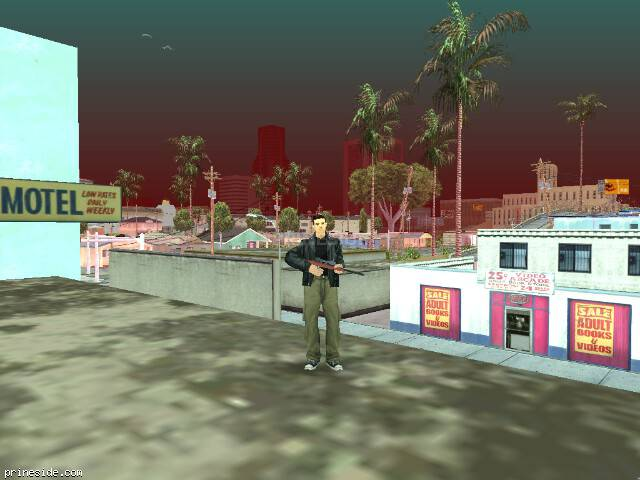 GTA San Andreas weather ID 62 at 13 hours
