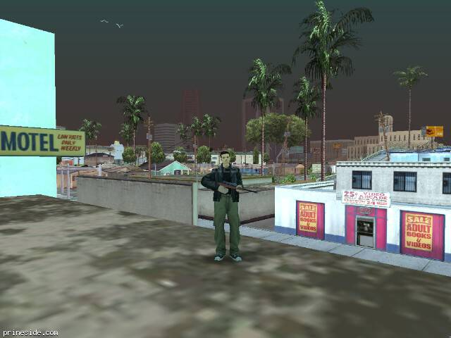 GTA San Andreas weather ID 62 at 17 hours