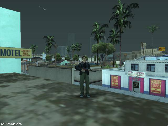 GTA San Andreas weather ID 62 at 19 hours