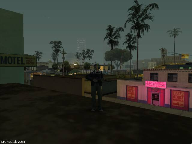 GTA San Andreas weather ID 62 at 2 hours