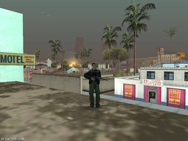 GTA San Andreas weather ID 62 at 8 hours