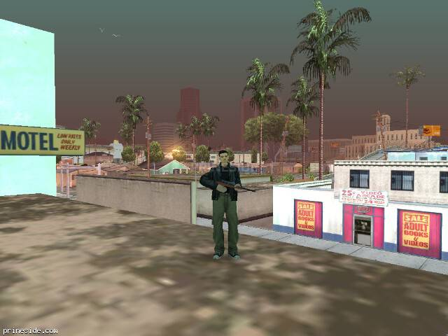 GTA San Andreas weather ID 62 at 9 hours