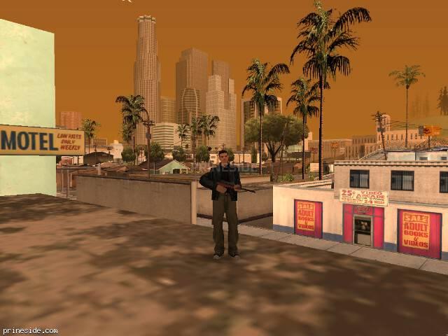 Просмотр погоды GTA San Andreas с ID 63 в 12 часов