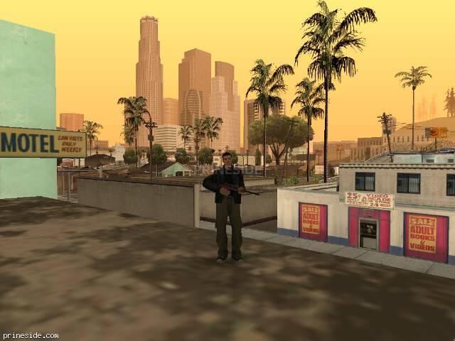 Просмотр погоды GTA San Andreas с ID 64 в 11 часов