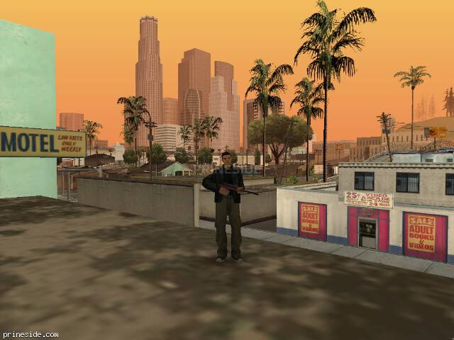 GTA San Andreas weather ID -448 at 13 hours