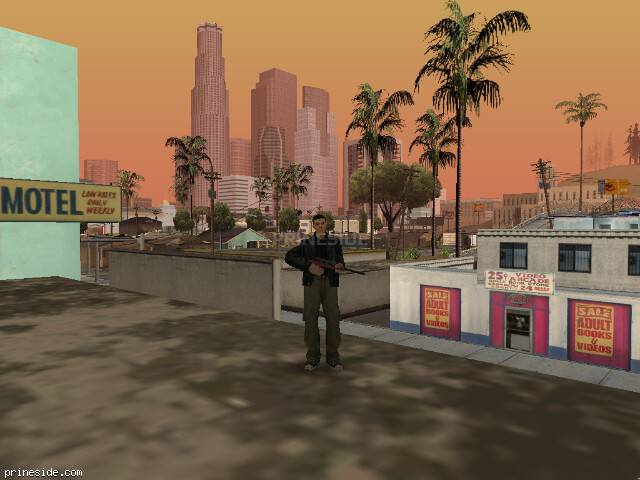 GTA San Andreas weather ID 64 at 14 hours